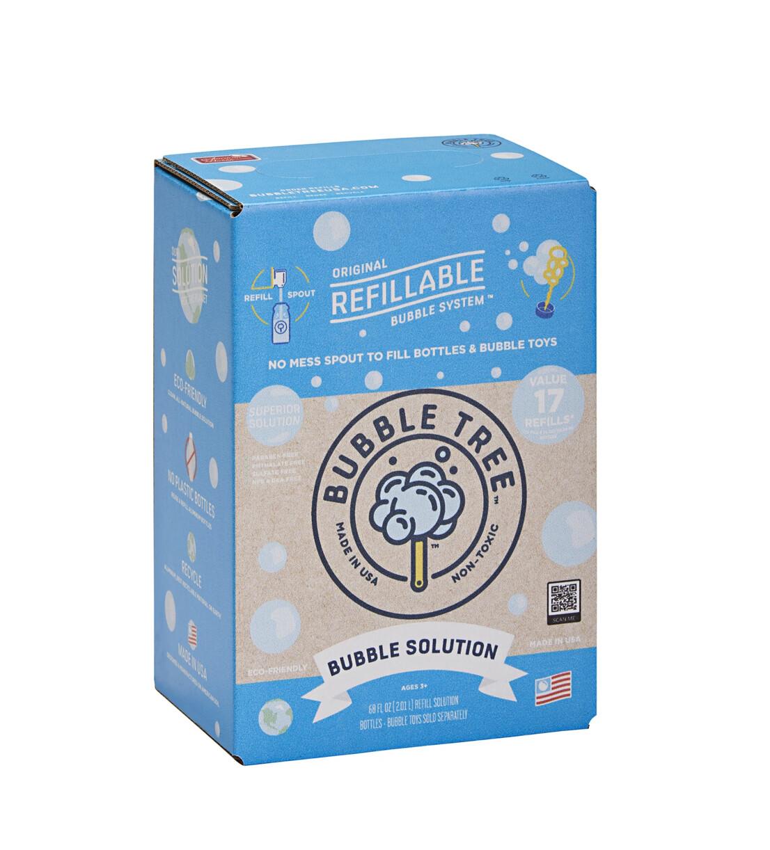 1-Liter Original Refillable Bubble Solution