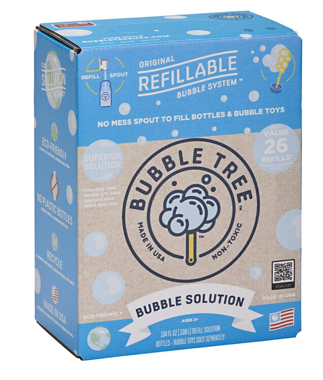 3-Liter Original Refillable Bubble Solution