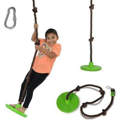 Disc-O Climbing Rope Swing