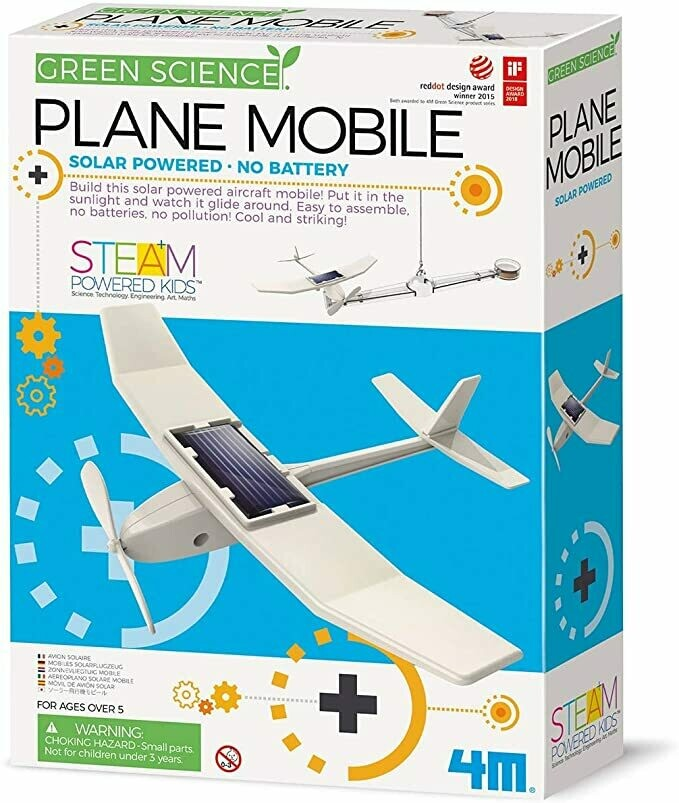 Green Science: Solar Plane Mobile