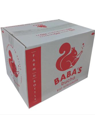 Case of 12 x 12oz bottles of kombucha
