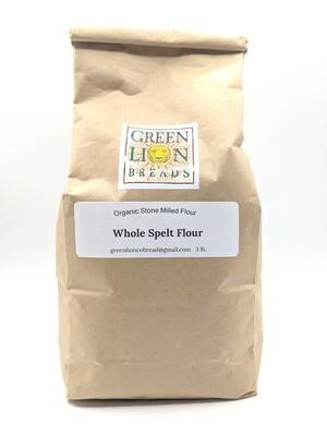 Green Lion Fresh Stone Ground Flour 3lbs