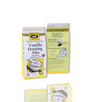 Singing Dog Organic Vanilla Frosting Mix 10oz