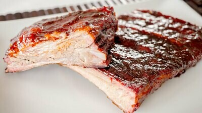 Sugartown St. Louis Style Hickory Smoked Pork Ribs 2lbs (frozen)