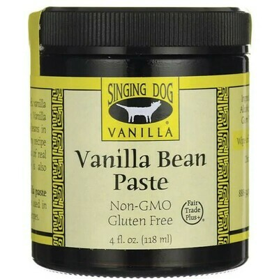 Singing Dog Organic Vanilla Bean Paste, 4 oz