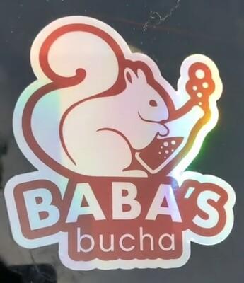 Baba's Iridescent Bumper Sticker