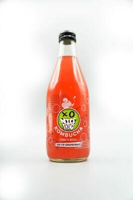 Nicethings GO-TO Grapefruit kombucha - case (12x12oz bottles)