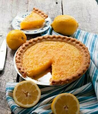 """Frecon Farms Lemon Chess Pie 9"""" (frozen)"""