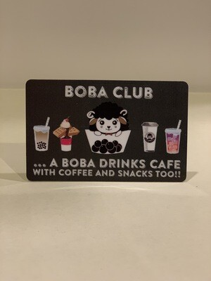 Boba Club Gift Card