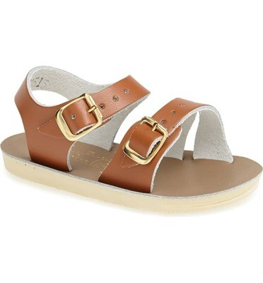 'Sea Wees' Salt Water Sandals - Tan