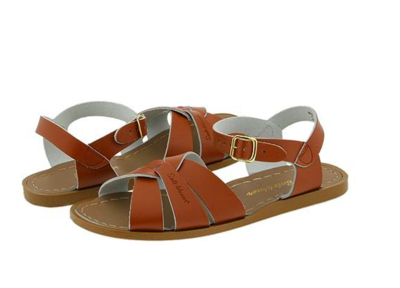 Salt Water Leather Water Safe Sandals - Tan