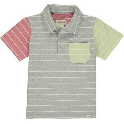 Me & Henry Polo - Multi-Color Stripe