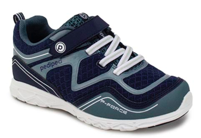 Pedi Ped - Force Navy Silver Machine Washable Sneaker