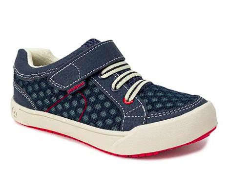 Pedi Ped - Dani Navy/Red Machine Washable Sneakers