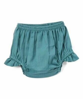 Yo Baby Bloomer Diaper Cover - Teal