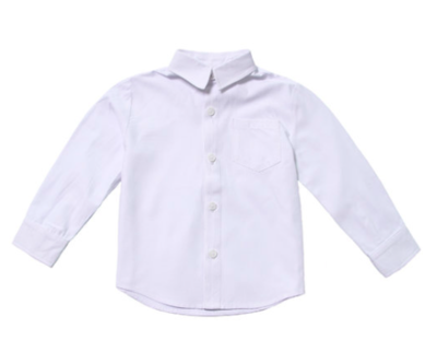 Fore!!! Button Up Shirt - White