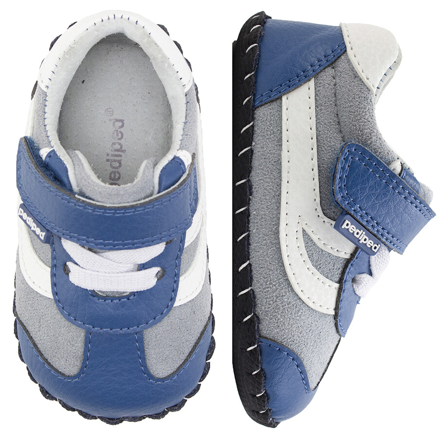 Pedi Ped Cliff Blue Grey First Walkers