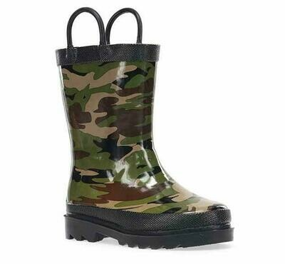 Western Chief Rain Boots - Camo Green