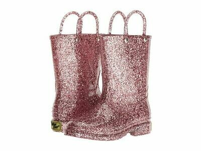 Western Chief Rain Boots - Rose Gold