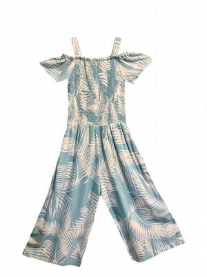Haven Girl Jumpsuit - Tropical Blue