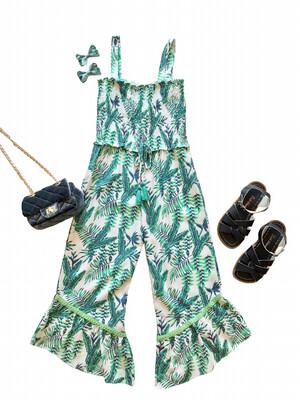 Joyous & Free Jumpsuit - Tropical Green