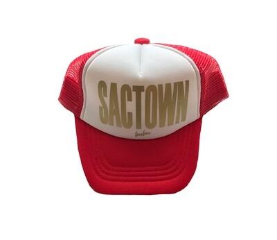 "Bubu ""Sactown"" Trucker Hat - Red"