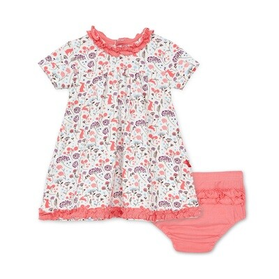 Magnetic Me - Beatrix Floral Modal Magnetic Dress And Diaper Cover