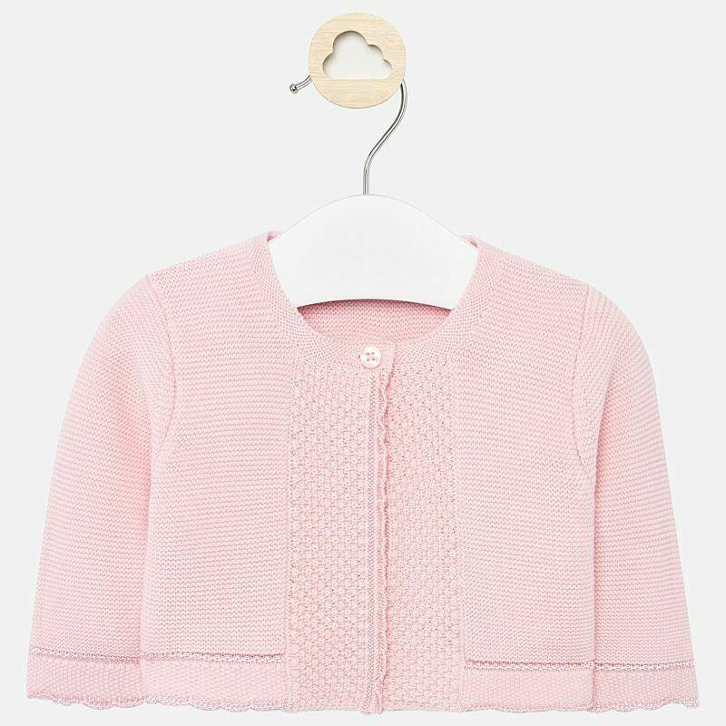 Mayoral Knit Cardigan - Light Pink