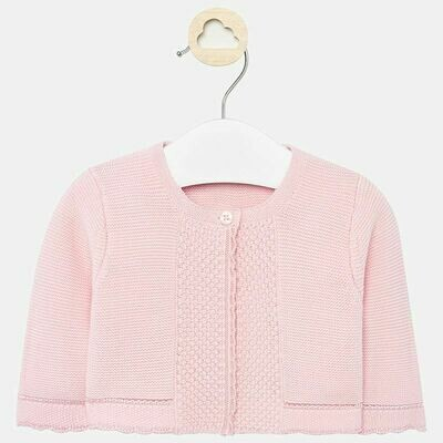 Mayoral Knit Cardigan - Light Pink (325-15)