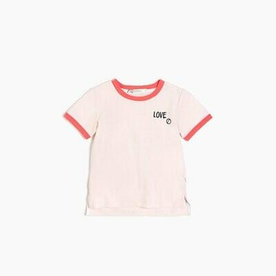 """Miles """"Love"""" Racquet Shirt - Pink"""