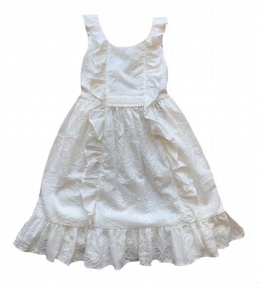 Isobella & Chloe White Eyelet Dress