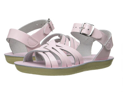'Strappy' Salt Water Sandals - Shiny Pink