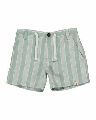 Me & Henry Shorts - Green Stripes