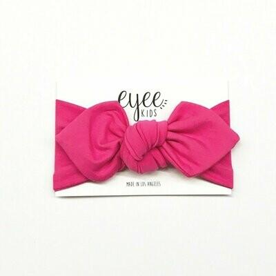 Eyee Top Knot Headband - Bubblegum Pink