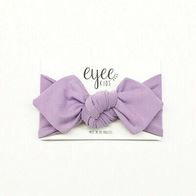 Eyee Top Knot Headband - Lavender