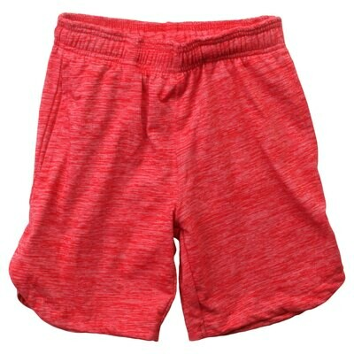 Wes & Willy Red Cloudy Shorts
