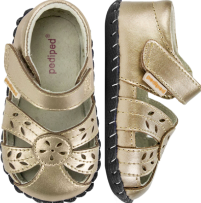 Pedi Ped Daphne Champagne First Walkers