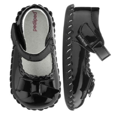 Pedi Ped BETTY BLACK PATENT