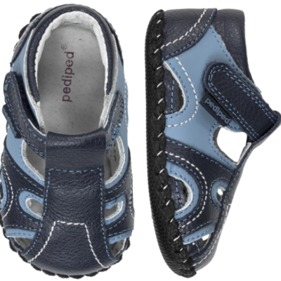 Pedi Ped Brody Navy Blue First Walkers