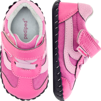 Pedi Ped Cliff Pink First Walkers