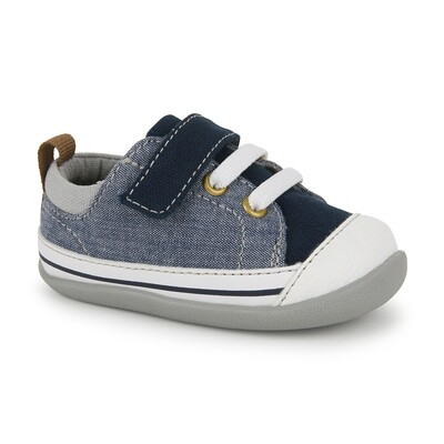 See Kai Run INF Stevie II (First Walker) Blue Denim