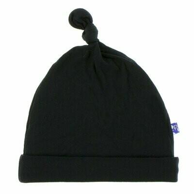Kickee Pants Basic Knot Hat - Black
