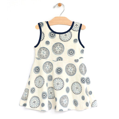 City Mouse Mandala Twirl Dress