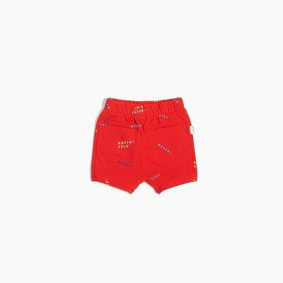 Miles Red Marco Polo Shorts
