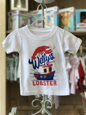 Wes & Willy Lobster Tee