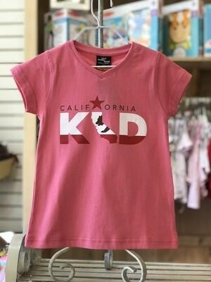 """""""California Kid"""" Tee - Hot Pink"""