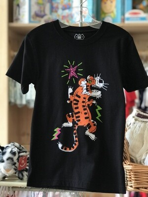Wes & Willy Tiger Graphic Tee - Black
