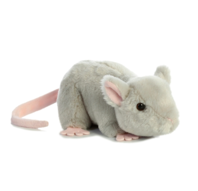 Aurora Stuffed Mouse