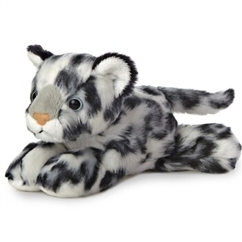 Aurora Stuffed Snow Leopard