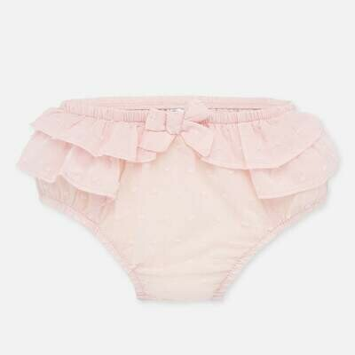 Mayoral Bloomers - Pink Ruffles
